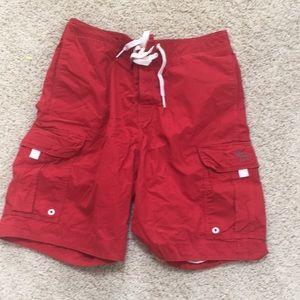 Abercrombie & Fitch knee-length swim/board trunks